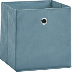 Zeller Present Aufbewahrungsbox, (Set, 2 St.), faltbar und schnell verstaut blau Körbe Boxen Regal- Ordnungssysteme Küche Ordnung Aufbewahrungsbox