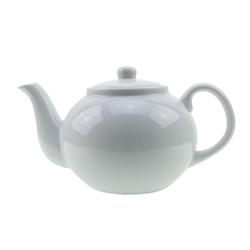 CILIO Porzellan Teekanne / Kaffeekanne 1,25 Liter weiß