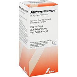 Ferrum Hausmann Sirup