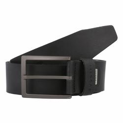 bugatti Gürtel Leder black 100 cm
