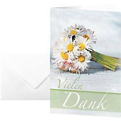 Sigel Dankeskarten DS046 DIN A6 220 g/m² Sortiert 10 Stück