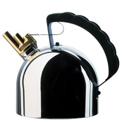 Alessi Wasserkocher Alessi Wasserkessel mit Stahlboden (induktionsherdgeeignet) Richard Sapper - 9091fm