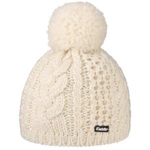Eisbär Bommelmütze (1-St) Pudelmütze mit Futter weiß