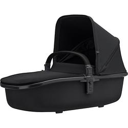 Kinderwagenaufsatz Hux, Black on Black schwarz