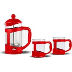 Bialetti Kaffeebereiter Set French Press Espressokocher Kaffee Teebereiter Kanne