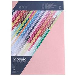 artoz Briefpapier Mosaic rosa DIN A4 90 g/qm 25 Blatt