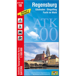 Regensburg 1 : 100 000