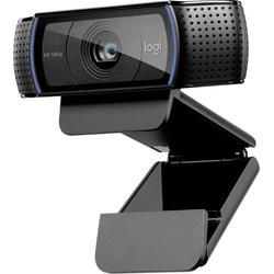 Logitech HD Pro Webcam C920 Full HD-Webcam 1920 x 1080 Pixel Klemm-Halterung