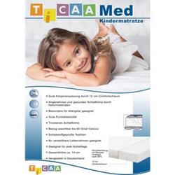 TiCAA Set Rollrost + Kindermatratze MedAllergen 90x200cm