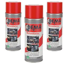 Auto Kontaktspray / Starthilfespray PRO 400 ml 3-er SET Starthilfe