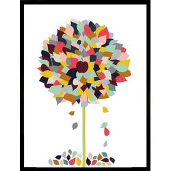 G&C Kunstdruck Appletree, 33/43 cm, gerahmt