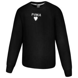 PUMA Alpha Crew Neck Dziewczynki Bluza 581364-01 - 110