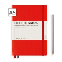 Leuchtturm1917 Notizbuch A5 blanko Rot