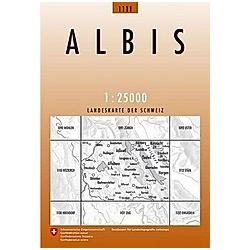 Landeskarte der Schweiz Albis - Buch