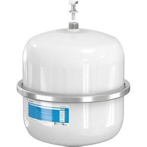 Flamco Airfix D 8 Liter Weißes Sanitär-Ausdehnungsgefäß 4 bar - Vorspannung maximaler Betriebsdruck 10 bar - 24259