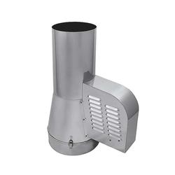 Rauchsauger + 12 Stufenregler doppelwandige Schornsteinsysteme Ø150mm