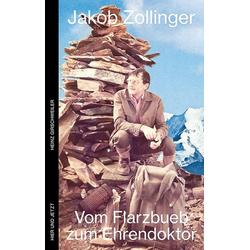 Jakob Zollinger als Buch von Heinz Girschweiler