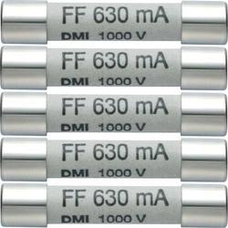 Testo 0590 0006 0590 0006 Sicherung Multimetersicherung 5er Set Ersatzsicherungen 630mA/1000V 1St.