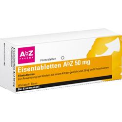 Eisentabletten AbZ 50mg