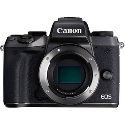 Canon EOS M5 Body Systemkamera Gehäuse (Body), inkl. Akku 25.8 Megapixel Schwarz Touch-Screen, Full