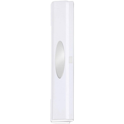WENKO Folienspender Perfect-Cutter, mit Sichtfenster weiß