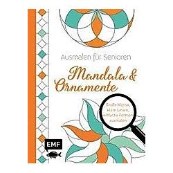 Ausmalen für Senioren - Mandala & Ornamente - Buch
