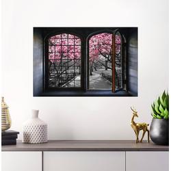 Wandsticker »Kirschblüten«, Wandtattoos, 11259214-0 rosa 60x40 cm rosa