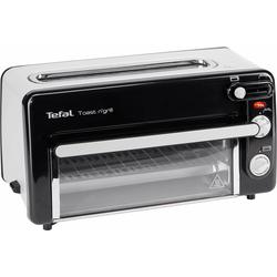 Tefal 2-in-1-Toaster Toast n' Grill und Mini-Ofen TL6008, 1 langer Schlitz, 1300 W, kein Vorheizen notwendig