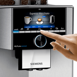Siemens EQ.9 plus connect s700 TI9575X7DE silber