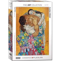 empireposter Puzzle Gustav Klimt - Die Familie - 1000 Teile Puzzle im Format 68x48 cm, 1000 Puzzleteile