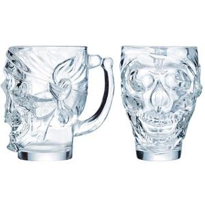 Gastro Arcoroc Skull Totenkopf Cocktailglas 90 cl