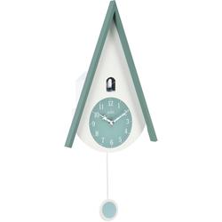 Acctim Wanduhr Moderne Kuckucksuhr grün Wanduhren Uhren Wohnaccessoires