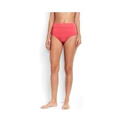 Hohe Control Bikinihose BEACH LIVING, Damen, Größe: XL Normal, Orange, Nylon-Mischung, by Lands' End, Frisch Melone - XL - Frisch Melone