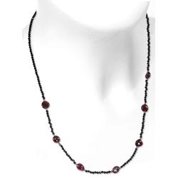 Adelia´s Kette ohne Anhänger Granat Halskette 925 Silber