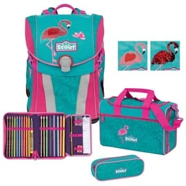 SCOUT Sunny Premium 4-tlg. Glitter Flamingo