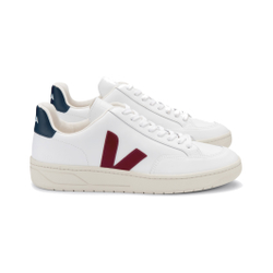 Veja - V-12 Leather Extra-W - Sneakers - Größe: 46