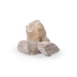 Gabionensteine Sandstein Pinienstein GS , 60-120, 500 kg Big Bag