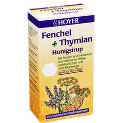 HOYER Fenchel+Thymian Honigsirup