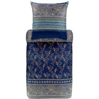 BASSETTI Matera blau 135 x 200 cm + 80 x 80 cm