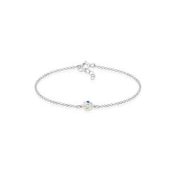 Elli Armband Kinder Kugel Bead Kristalle 925 Silber