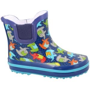 Beck Kinder Mädchen Jungen Gummistiefel Stiefeletten Regenstiefel halbhoch