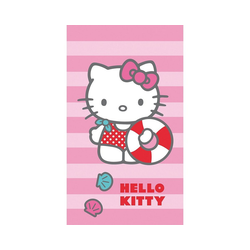CTI Badetücher Strand- / Badetuch Hello Kitty, 70 x 120 cm