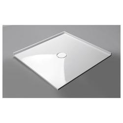 HAK Eckwanne MIRAI Duschwanne, Quadrat, weiß, 80x80x1,8 cm