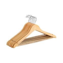 WENKO Formbügel Eco, 8er Set Kleiderbügel Holz Holzkleiderbügel Kleiderbügel aus