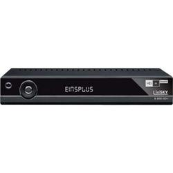 TelSKY S 400i HD+, schwarz (HD+ und SmartTV-Satellitenreceiver)