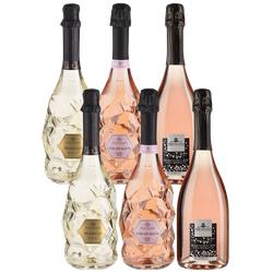 6er-Paket Italiens Schaumweine - Weinpakete