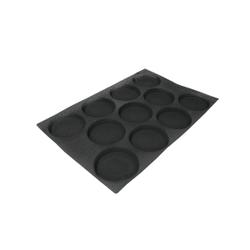 SCHNEIDER AIR Hamburger Backform, Gebäckform für Hamburger, wie auch Feingebäck, Durchmesser: 125 mm