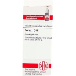 BORAX D 6 Globuli