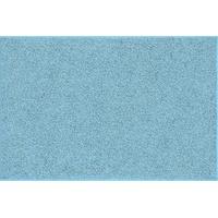 Grund Badteppich, 100% Baumwolle, Grau, 100% Baumwolle, türkis, 60x90 cm