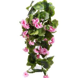 Kunstblume Geranienhängebusch Geranie, Botanic-Haus, Höhe 60 cm